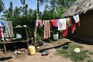 The Water Project: Makunga Community, Tabarachi Spring -  Clothesline