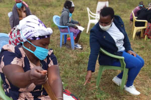 The Water Project: Kiteta Community A -  Mixing Soap