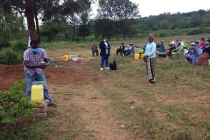 The Water Project: Kiteta Community A -  Outdoor Training