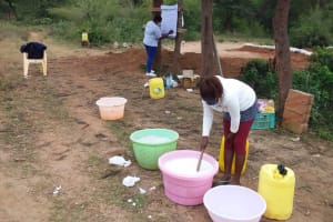 The Water Project: Kiteta Community A -  Soapmaking