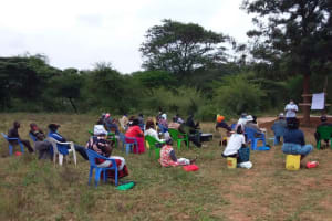 The Water Project: Kiteta Community A -  Training Demonstration