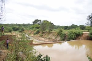 The Water Project: Kiteta Community -  Complete Sand Dam