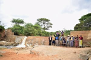 The Water Project: Kiteta Community -  Dam Complete