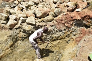The Water Project: Kiteta Community -  Digging