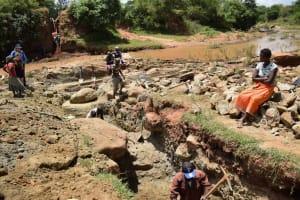 The Water Project: Kiteta Community -  Trenching
