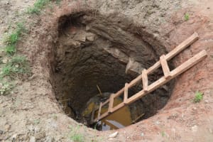 The Water Project: Kiteta Community A -  Well Hole