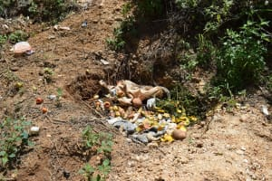 The Water Project: Mathanguni Community -  Garbage Pit