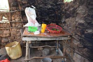 The Water Project: Mathanguni Community -  Inside Kitchen