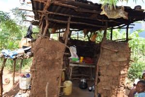 The Water Project: Mathanguni Community -  Kitchen