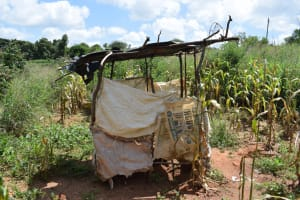 The Water Project: Mathanguni Community -  Latrine