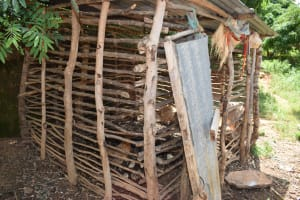 The Water Project: Mathanguni Community A -  Chicken Coop