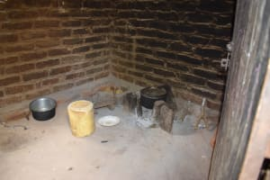 The Water Project: Mathanguni Community A -  Cooking Area