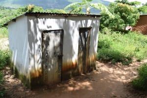 The Water Project: Mathanguni Community A -  Latrines