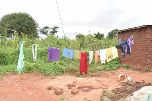 The Water Project: Thona Community -  Clothesline