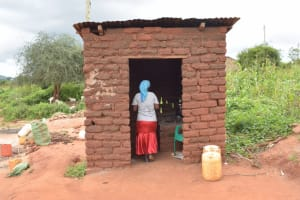 The Water Project: Thona Community -  Kitchen