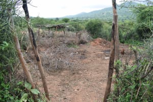 The Water Project: Thona Community A -  Animal Pen