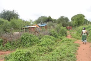 The Water Project: Thona Community A -  Compound