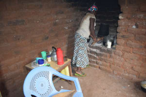 The Water Project: Thona Community A -  Cooking