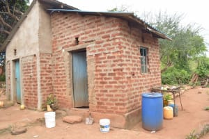 The Water Project: Thona Community A -  Kitchen