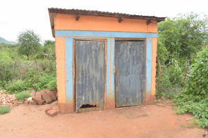 The Water Project: Thona Community A -  Latrines