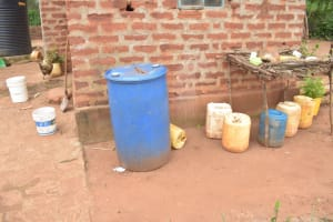 The Water Project: Thona Community A -  Water Storage Containers