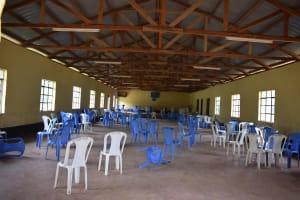 The Water Project: Kikumini Boys Secondary School -  Dining Hall