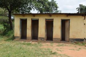 The Water Project: Kikumini Boys Secondary School -  Dorm Latrines
