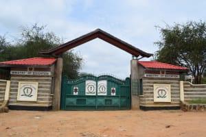 The Water Project: Kikumini Boys Secondary School -  School Gate
