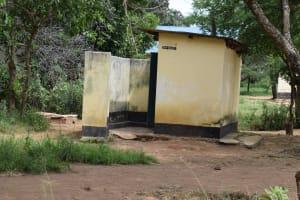 The Water Project: Kikumini Boys Secondary School -  Staff Latrines