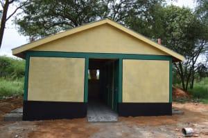 The Water Project: Kikumini Boys Secondary School -  Toilets