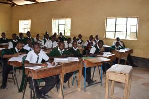 The Water Project: Kikumini Boys Secondary School -  Class