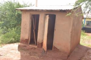 The Water Project: Ithingili Primary School -  Girls Latrines