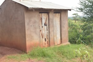 The Water Project: Ithingili Primary School -  Staff Latrines