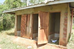 The Water Project: Kasyalani Mixed Day Secondary School -  Boys Latrines