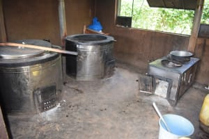 The Water Project: Kasyalani Mixed Day Secondary School -  Cooking Area