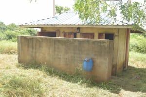 The Water Project: Kasyalani Mixed Day Secondary School -  Girls Latrines