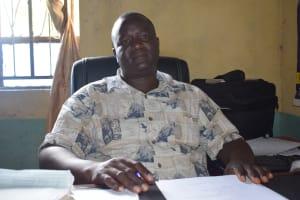 The Water Project: Kasyalani Mixed Day Secondary School -  Julius Muithya Deputy Ht