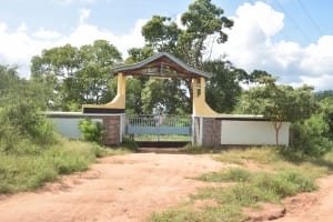 The Water Project: Kasyalani Mixed Day Secondary School -  School Entrance