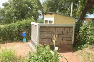 The Water Project: Kasyalani Mixed Day Secondary School -  Staff Latrines