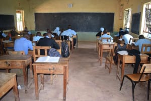 The Water Project: Kasyalani Mixed Day Secondary School -  Students In Class
