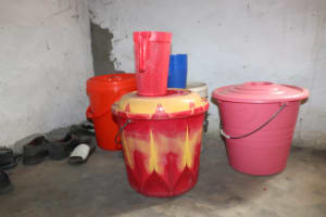 The Water Project: Rosint Community, #24 Poultry St -  Water Storage