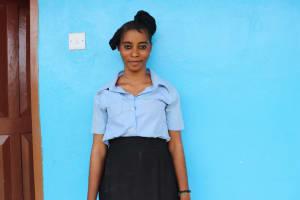 The Water Project: Kaffu Bullom, Kasongha OIC Vocational School -  Cecelia