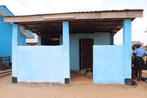 The Water Project: Kaffu Bullom, Kasongha OIC Vocational School -  School Kitchen