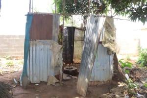 The Water Project: Kaffu Bullom, Kasongha OIC Vocational School -  Community Latrine
