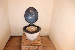 The Water Project: Kaffu Bullom, Kasongha OIC Vocational School -  Inside School Latrine Male Block