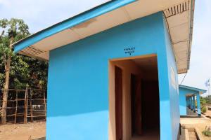 The Water Project: Kaffu Bullom, Kasongha OIC Vocational School -  School Latrine Male Block