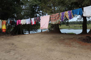 The Water Project: Lokomasama, Matong Village -  Clothesline