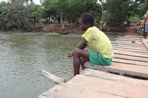The Water Project: Lokomasama, Matong Village -  Small Boy Fishing