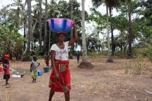 The Water Project: Lokomasama, Matong Village -  Woman Carrying Water