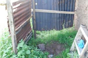 The Water Project: Ikoli Community, Odongo Spring -  Bathing Shelter Inside